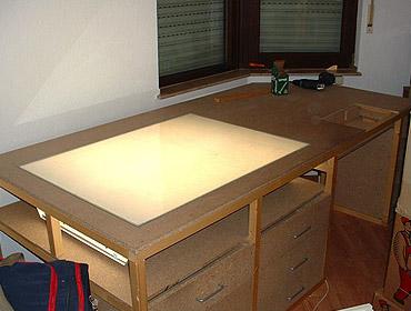 Schreibtisch selber bauen arbeitsplatte  Schreibtisch Selber Bauen – Anleitung Von Hornbach – ragopige.info